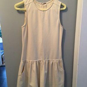 Free people drop waist irony sleeveless dress